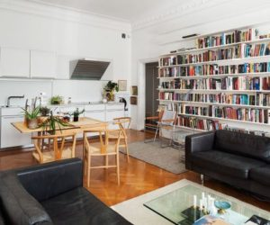 Nordic Apartment Showcases How to Decorate An Open Space
