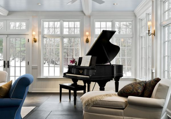 ... View In Gallery Turn The Sunroom Into An Entertainment ...