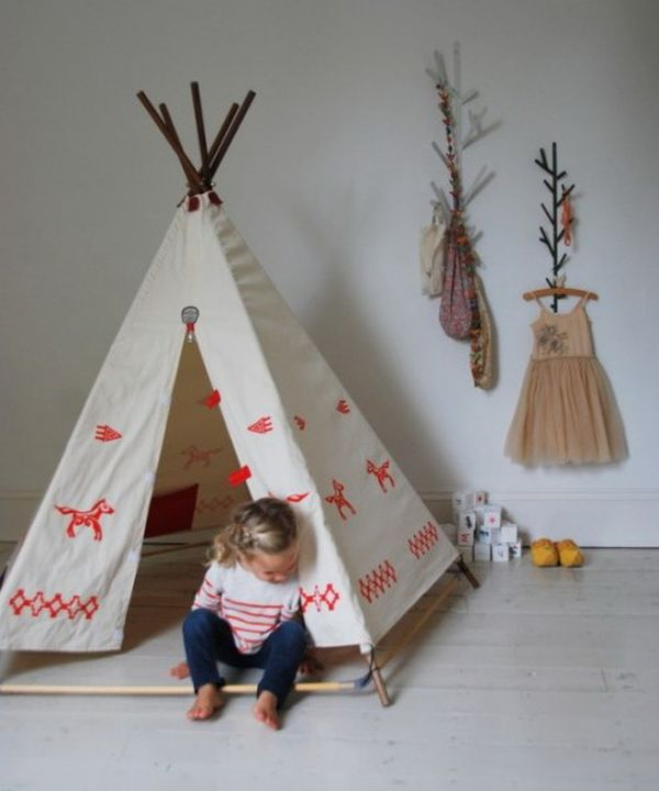 25 Cool Tent Design Ideas For Kids Room