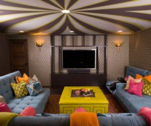 ... How To Update Your Living Roomu0027s Ceiling For A Stunning New Look