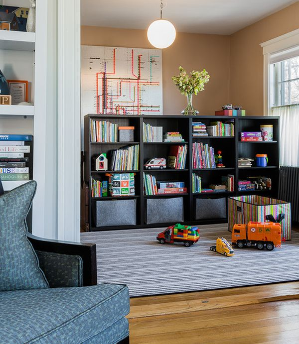 35 colorful playroom design ideas for Teenage playroom design ideas