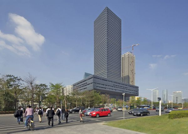 OMAu0027s New Stock Exchange Building, An Impressive Project In China