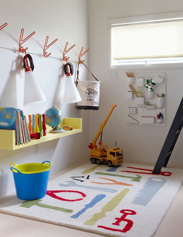 Great 35 Colorful Playroom Design Ideas