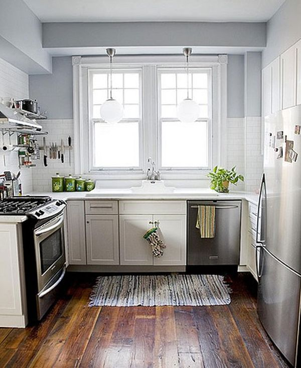 Marvelous Small Space Kitchens Ideas Part - 11: 27 Space-Saving Design Ideas For Small Kitchens