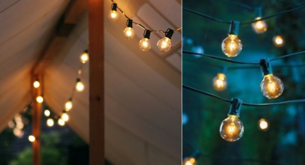 Bright ideas for outdoor lighting designs stringing vintage lights workwithnaturefo