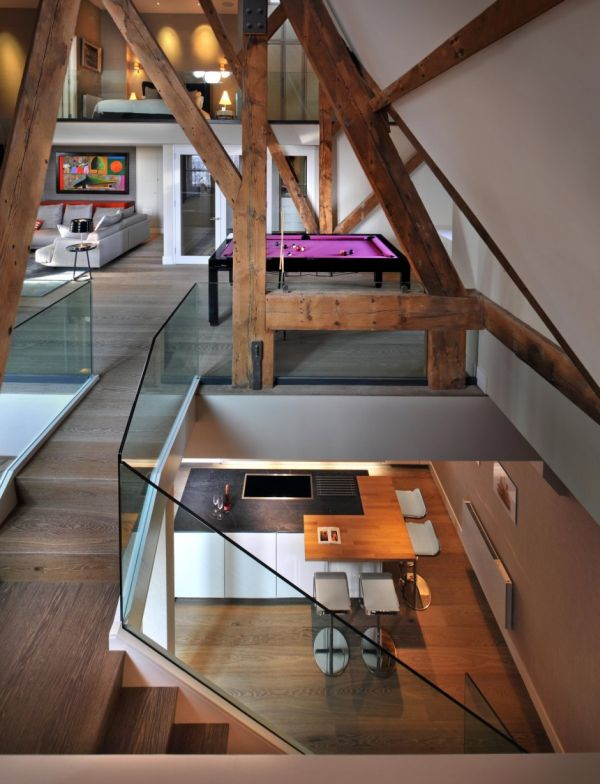A Modern Transformation For The St Pancras Penthouse Apartment in