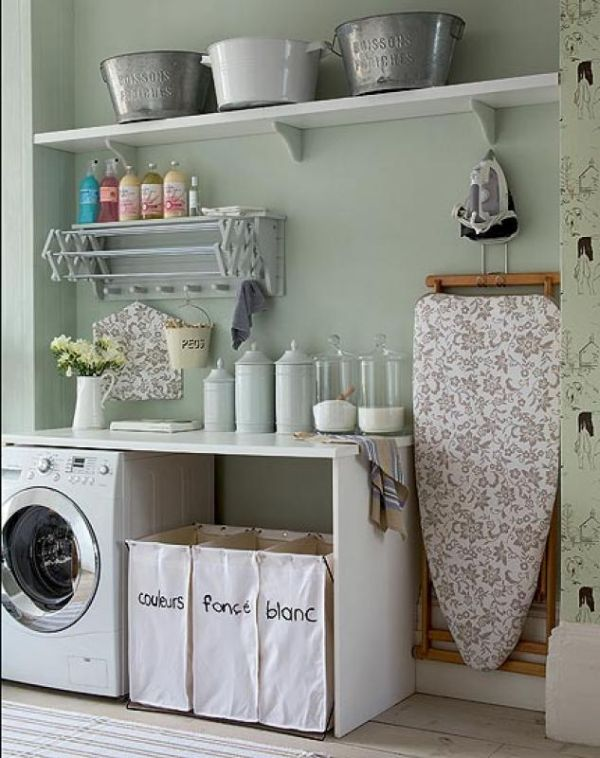 laundry furniture. Make The Most Of Your Cabinets. Laundry Furniture Homedit