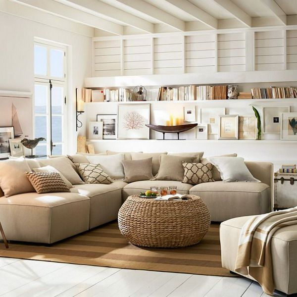Salon Beige Y Marron Baos Beige Y Blanco Elegant Decoracion Salon - Salones-blanco-y-beige
