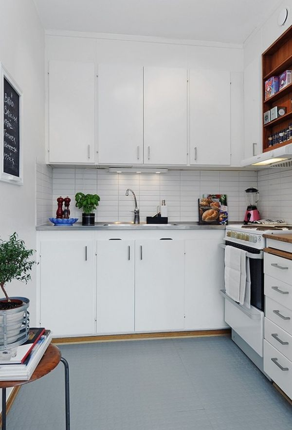 27 SpaceSaving Design Ideas For Small Kitchens