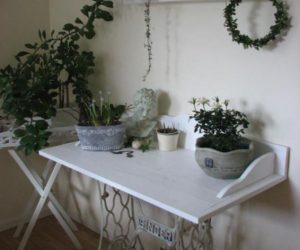 Ingenious ideas for repurposing a treadle sewing machine
