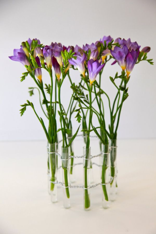 Test Tube Flower Vases. Awesome Ideas