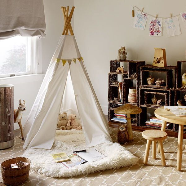 25 cool tent design ideas for kids room for Children s bedroom ideas