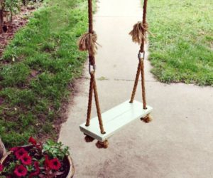 DIY Outdoor Swings, Perfect For Relaxing In The Garden