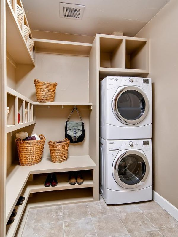 make the most of your cabinets - Laundry Design Ideas
