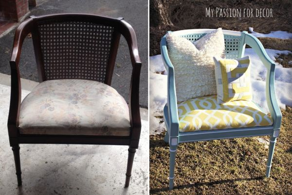 How To Reupholster A Chair: 10 Chic Ideas Images