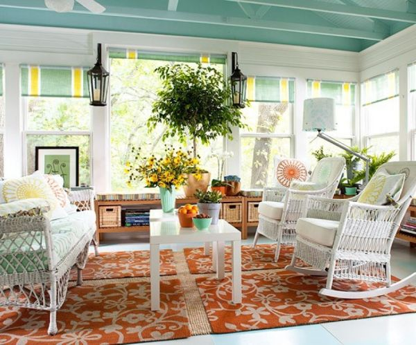 View in gallery  35 Beautiful Sunroom Design Ideas. Sunroom Decor Ideas. Home Design Ideas