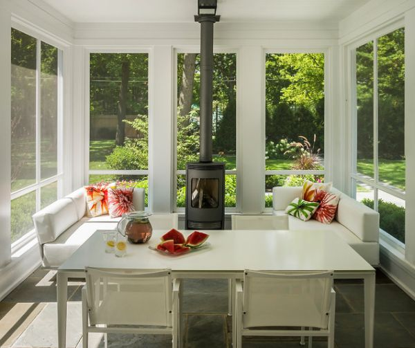 Kitchen Sunroom Designs. View in gallery  35 Beautiful Sunroom Design Ideas