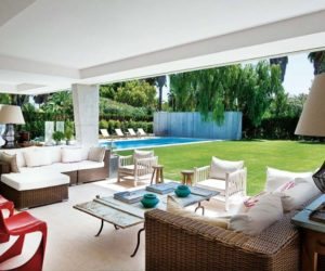 A Tranquil Summer Home With A Beautiful Garden