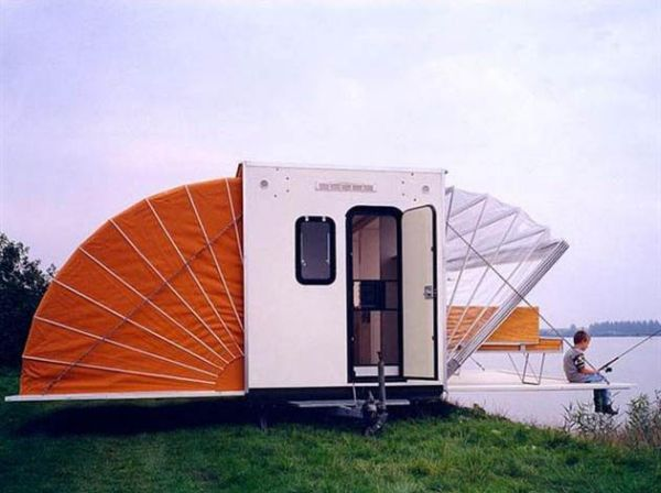 De Markies – a small but ingenious and timeless traveler's mobile home