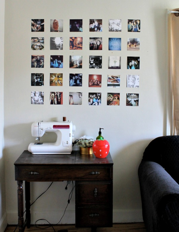 Wall Pictures for Living Room – How To Display Instagram Moments