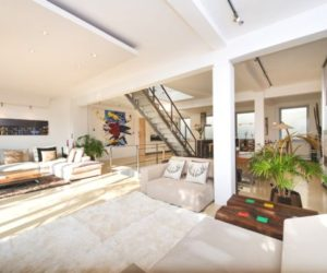 A Luxury Loft In London Featuring A Versatile Living Space