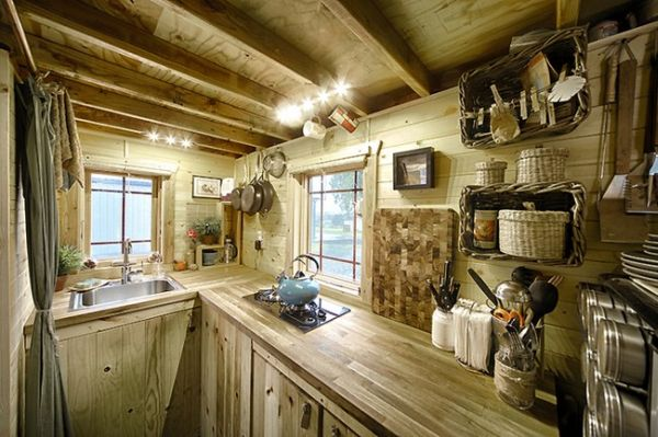 view in gallery - Tiny House Trailer Interior