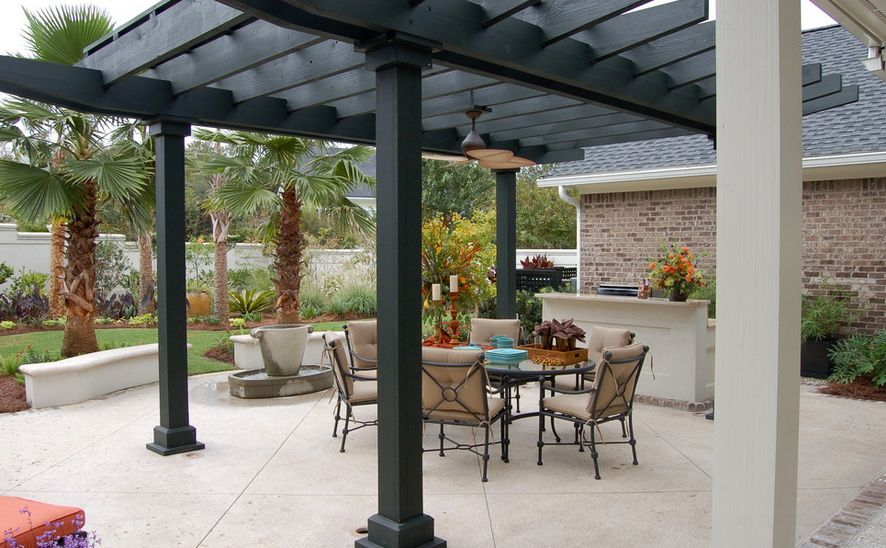 ... View in gallery ... - Patio Pergola Designs, Perfect For The Upcoming Summer Days
