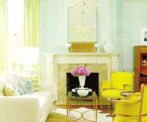 Aqua + Yellow: Cheery & Fresh