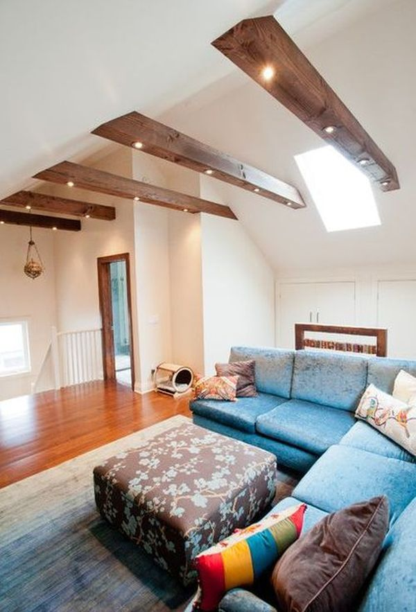 Living rooms with beams that will inspire for How to light up a room
