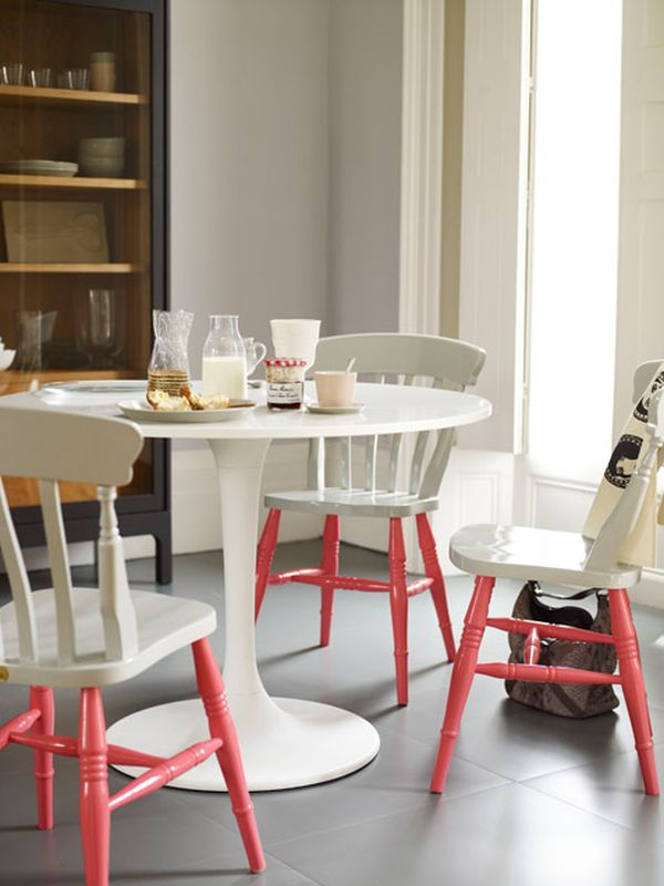 Casual chairs. & Paint-Dipped Furniture Designs u2013The New Trend For 2013