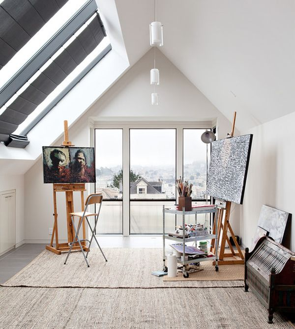19 Artist\'s Studios and Workspace Interior Design Ideas