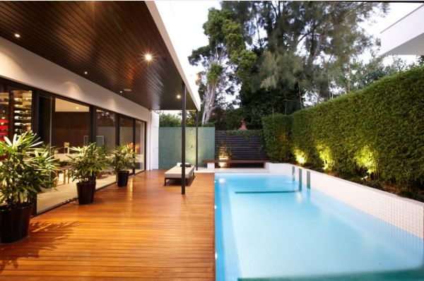20 Backyard Pool Design Ideas For A Hot Summer on Contemporary Backyard id=71854