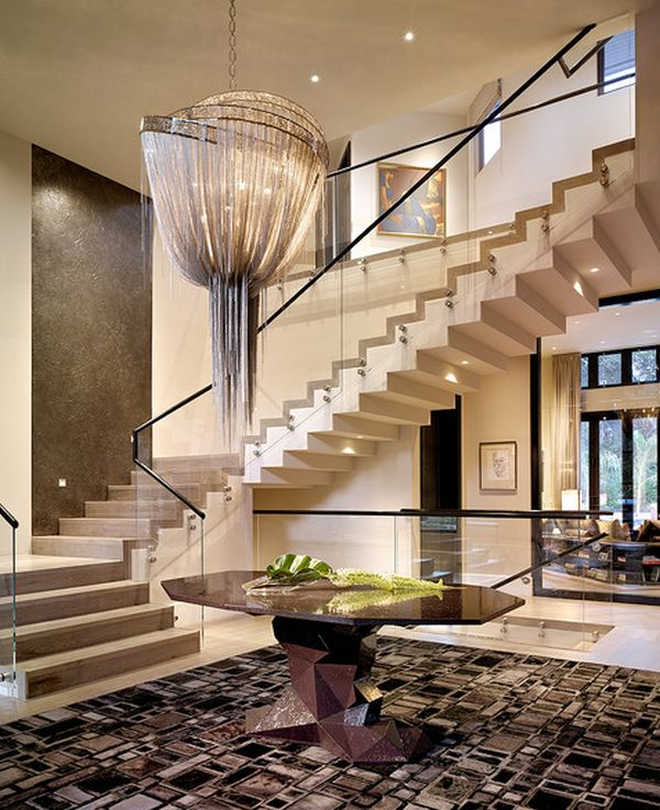 Tall Foyer Lighting : Get that holiday feeling at home