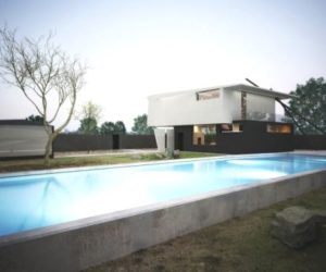 The Unconventional Forms And Modern Design Of The M House
