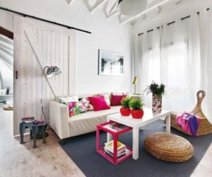 A 50 Square Meter Attic Transformed Into A Colorful And Chic Space