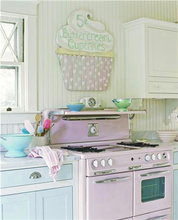 Sweet Like Candy Add A Pop Of Pastel To Your Kitchen
