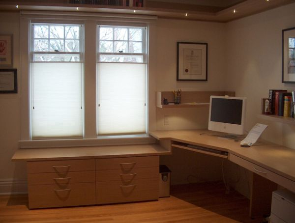 Maximize your office space with a corner desk Corner home office design ideas