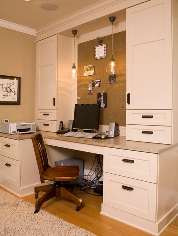 Diy home office d cor for Home office cabinet design ideas