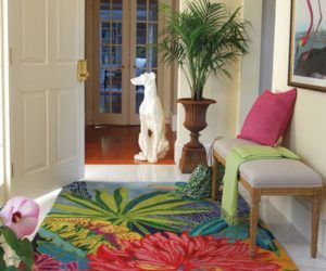 Themed Rooms: Playful, Flirty Tropical Rooms