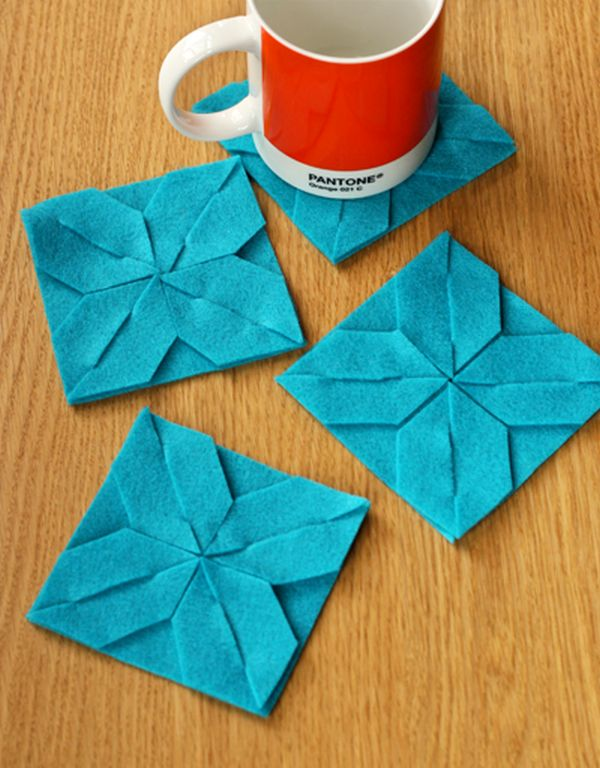 How to make your own coasters 29 diy wonderful designs for Manualidades originales y faciles