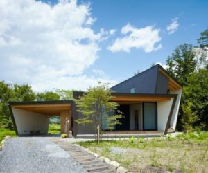 The Simple, Soft And Elegant Design Of A Vacation Home In Japan