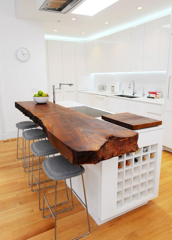 15 Stylish Wood Furniture And Features With Natural Edge Part 58