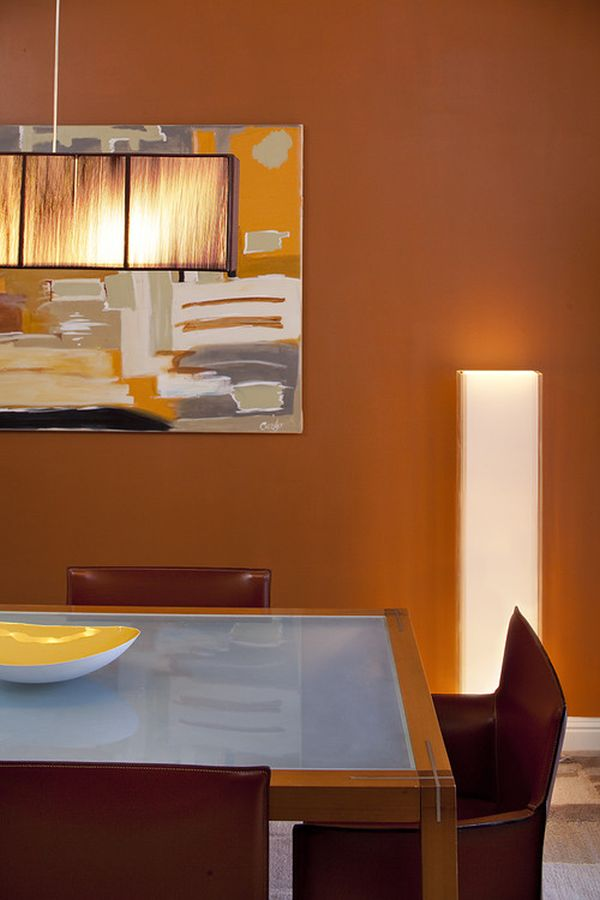 Colors that bring life and vibrancy into any room for 2013 for Dining hall wall painting