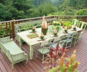 Outdoor Palmetto Dining Table 15 Design Ideas For A Summer Experience
