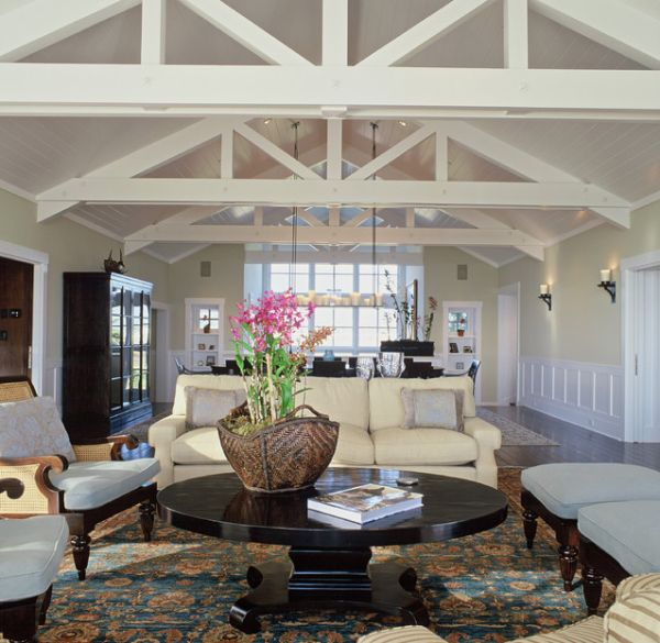 Living Rooms With Beams That Will Inspire