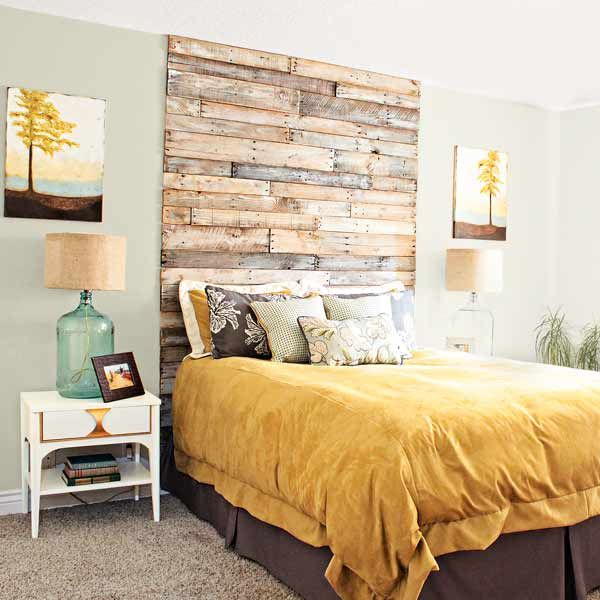 Backboard Ideas 13 DIY Headboards Made From Repurposed Wood