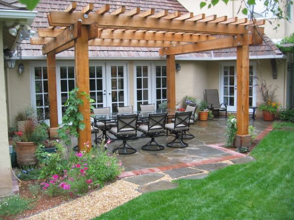 View in gallery ... - Patio Pergola Designs, Perfect For The Upcoming Summer Days