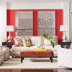 red wall living room. Colors That Bring Life And Vibrancy Into Any Room For 2013 20 Jive Well With Red Rooms