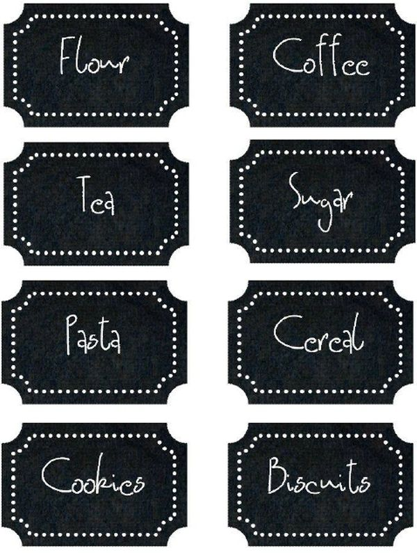 some of the best free kitchen label printables With kitchen colors with white cabinets with how to print labels on sticker paper