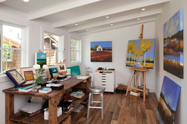 19 artist s studios and workspace interior design ideas - Home art studio ...